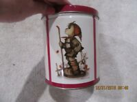 """VINTAGE M.I. HUMMEL COLLECTOR'S EDITION 1996 TIN CAN, 6"""" TALL x 5"""" DIAMETER"""