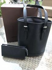 Genuine Louis Vuitton EPI Cubo PM Bolso y Bolsa, Noir.