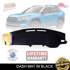 BLACK DASH MAT for TOYOTA RAV 4 MXAA52R GXL GX Cruiser Edge 1/2019-2020 DM1566