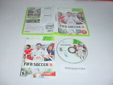 FIFA SOCCER 11 game complete w/ manual for Microsoft XBOX 360