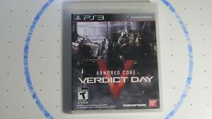 Armored Core: Verdict Day (Sony PlayStation 3, 2013)