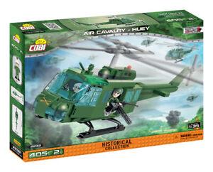 COBI Air Cavalry Huey Helicopter SET# 2232 (405 Pcs.) NEW, US SELLER, Vietnam