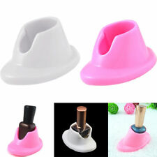 Rubber Nail Polish Holder Display Case Base Bottle Stand Foundation Seat Random