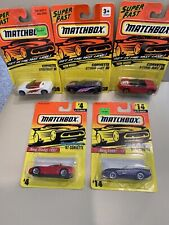Lot Of 5 Matchbox 93-96 Chevy Corvette New Sealed Mint On Card 7-eleven Rare