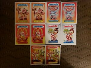 2021 Topps Garbage Pail Kids Food Fight You Are What You Eat Insert Set 10 Cards
