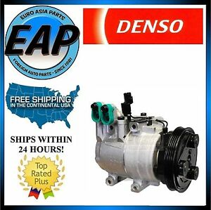 For 2001-2005 Accent 1.6L 4cyl OEM Denso A/C Compressor 471-6005 NEW