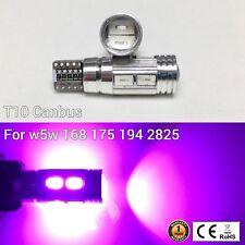T10 W5W 194 168 2825 175 12961 Reverse Backup Light Purple 10 Canbus LED M1 M