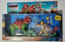 MOTU Target Exc.Battlefield Warriors Battle Armor He-Man & Battle Cat IN HAND!!!