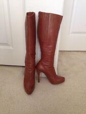 Christian Louboutin  Light Brown Alta Ariella Knee High Boots 37