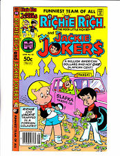 Richie Rich & Jackie Jokers No 43   : 1981   : Taxi Cab Cover!: