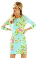 Lilly Pulitzer - Boatneck Dress Pool Blue Pink Lemonade -Size: XL