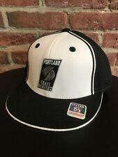NEW BOYS YOUTH VINTAGE REEBOK PORTLAND TRAILBLAZERS NBA FITTED HAT CAP
