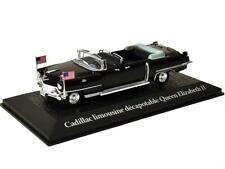 1:43 Scale Atlas Cadillac Limo - Queen Elizabeth II / Eisenhower - 1959 - BNIB