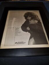 Tina Turner Rare Original Nbc Radio Album Party Promo Poster Ad Framed!