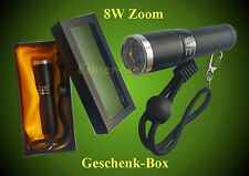 8 Watt SMD LED Torch 180Lm 8 Watt + Battery FOCUS ZOOM