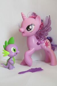 My Little Pony Talking & Singing Twilight Sparkle & Spike Dragon Figures 2017