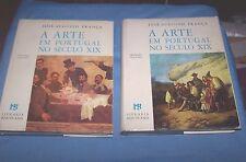 """""""A Arte Em Portugal No Seculo XIX  Jose-Augusto Franca 1st ed. 1966 (2 vol. set)"""