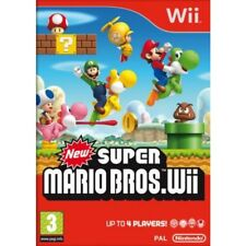 New Super Mario Bros Nintendo (Wii) - PRESTINE -1st Class FAST & DELIVERY UK PAL