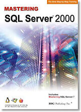 Master/Learn Sql Server 2000 & 7 ~ Step by Step Training Tutorial Pc Software