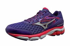 Mizuno Wave Inspire 12 Women's Size 8 Athletic Running Shoes Purple Coral Silver