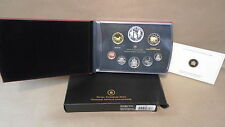2012 Canada 8 coin proof set with bicentennial war 1812 dollar boxed with coa