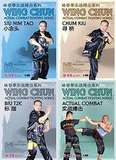 Wing Chun Actual Combat Fighting by Mai Tenglong 4DVDs