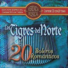 Los Tigres Del Norte : Herencia Musical: 20 Boleros Romanticos CD