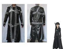 Sword Art Online Aincrad Kirito Anime Cosplay Costume halloweeen Full size