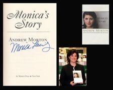 MONICA LEWINSKY Autographed Signed Book US President Bill Hillary Clinton