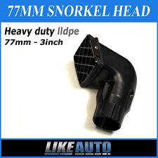 """3"""" 77mm Snorkel Head 4WD / Universal 4x4 AWD Off Road Brand New Like Auto"""