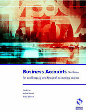 Business Accounts (Accounting & Finance), Cox, David, Used; Good Book