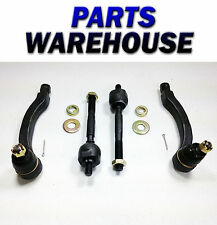 4 Brand New Inner & Outer Front Tie Rod End - Honda Civic 1996-2000 1 Yr Wrty