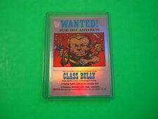 """2013 TOPPS 75TH ANNIVERSARY 1975 """"WANTED STICKERS"""" PARALLEL RAINBOW FOIL #62"""