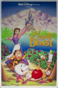 Beauty and the Beast 27x40 Original Theater Double Sided Movie Poster