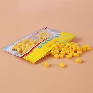 100pcs Fake Soft Artificial Corn Flavor Carp Bream Bait Fishing Lure SA