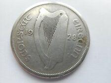 1928 IRELAND/IRISH/EIRE PRE-DECIMAL HALF CROWN COIN - (FIRST YEAR OF ISSUE)