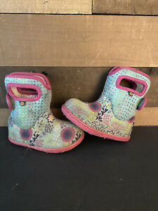 baby bogs reef snow boots kids size 7