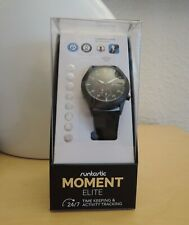 Runtastic Moment Elite Smartwatch Wearable 46 mm Mattschwarz