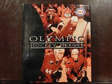 1998 Esso Olympic Heroes Hockey Folder Card Set Complete (60)