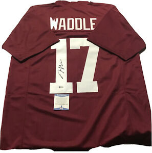 Jaylen Waddle autographed Alabama crimson tide jersey beckett coa Miami Dolphins