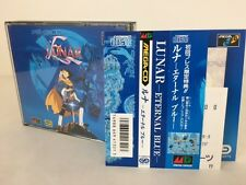 Sega Mega CD Lunar Eternal Blue w/spine Japan JP GAME z2205