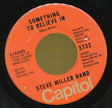 STEVE MILLER BAND 45 TOURS CANADA SOMETHING TO BELIEVE