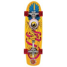 New Santa Cruz Flying Eye Cruzer Yellow Complete Skateboard - 8.2in x 30.7in