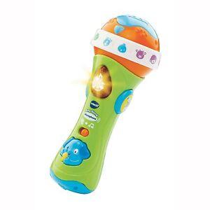 Vtech Singende Mikrofon Spielzeug Baby Spaß 18 Melodien Lieder Neu