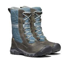 Keen Womens KEEN Hoodoo III Tall Winter Boots - Blue Grey Sports Outdoors Warm
