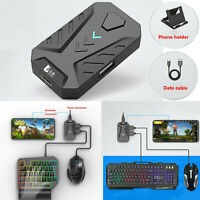 For Android IOS iPhone PUBG Mobile Game Keyboard & Mouse Adapter Converter Set