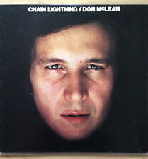 DON McLEAN - Chain Lightning [UK 1978 EMI International VINYL LP - Nr MINT]