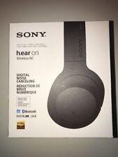 Sony H.ear on Headphone Charcoal Black MDR100ABN/B