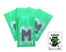 Party Bags with Official Minecraft Sticker! 5 Pack.