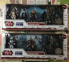 Star Wars Legacy Collection The Force Unleashed Two 5 Figure Pack Sets LOOK!!👀